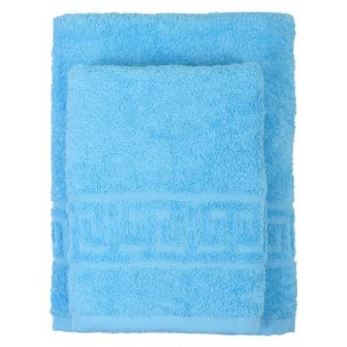 Комплект полотенец гладкокрашеных 2 шт.
